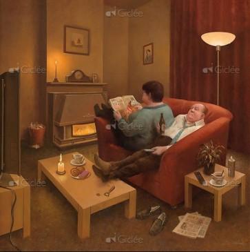 Marius van Dokkum - Als het buiten stormt