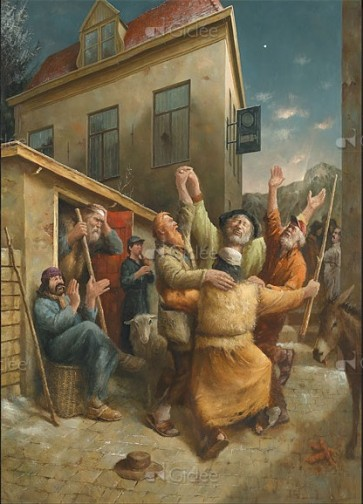 Marius van Dokkum - Dans van de herders