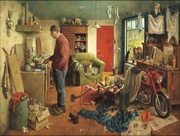 Marius van Dokkum - Mannenhuishouding