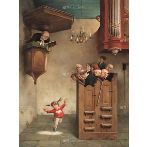 Marius van Dokkum - Dansje in de kerk